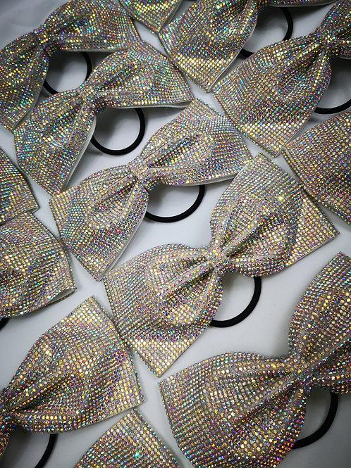 COACHES ROOM Diamante Bow