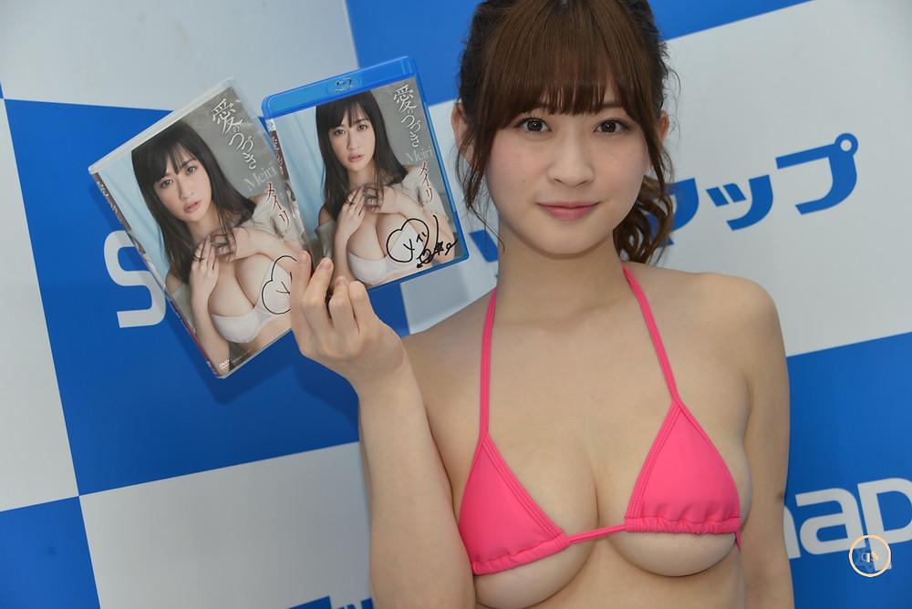 巨乳グラドルメイリ『愛のつづき/竹書房』DVD・BD発売記念イベント (1)
