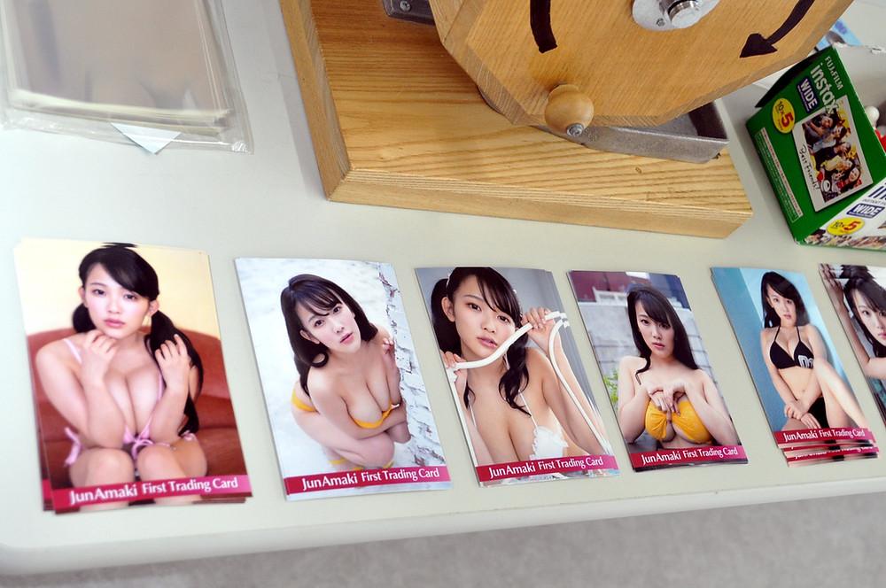 爆乳グラビアアイドル天木じゅん『天木じゅん』ファースト・トレーディングカード発売記念イベント (7)