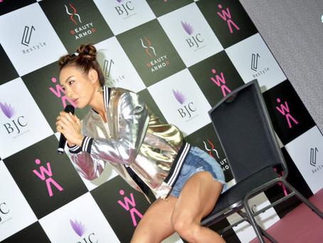 初代腹筋女子・AYAが3月に沖縄で海開き無料イベント『100フィットネス』