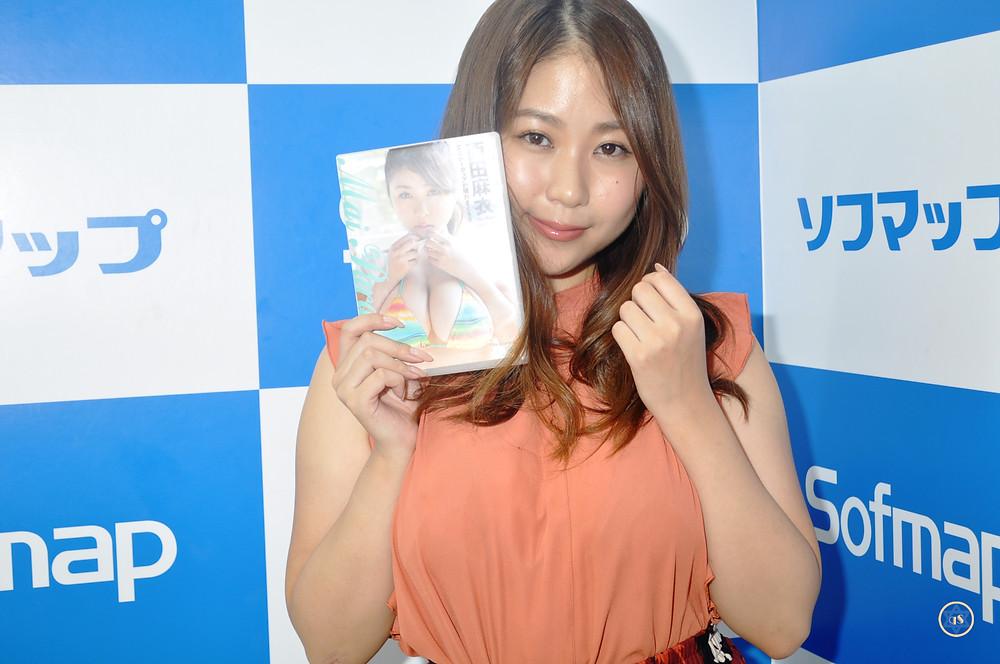 爆乳Iカップグラビアアイドル西田麻衣『Mai Paradise/Aircontrol』DVD発売記念イベント (13)