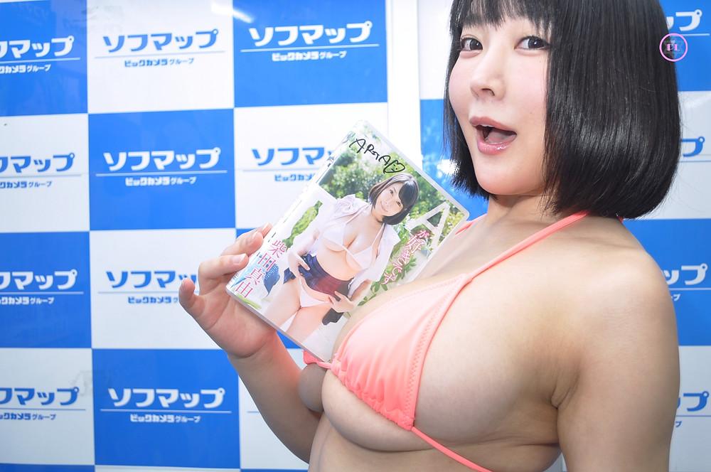爆乳Iカップ羽生ありさ『Aが好きです 柴田真由』DVD発売記念イベント (1)