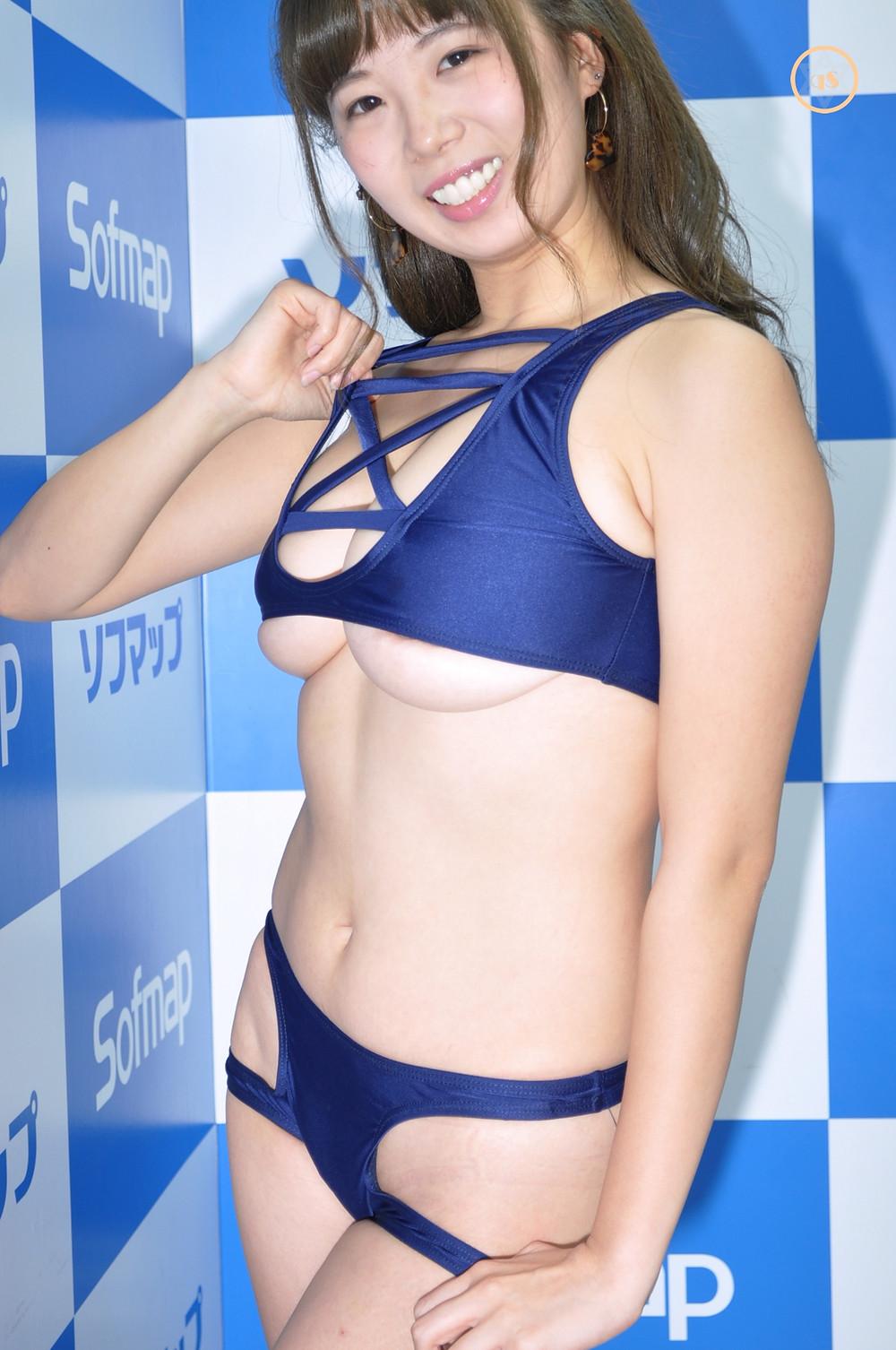 巨乳グラドル森脇芹渚『ミルキー・グラマー/㈱竹書房』DVD・BD発売記念イベント (5)