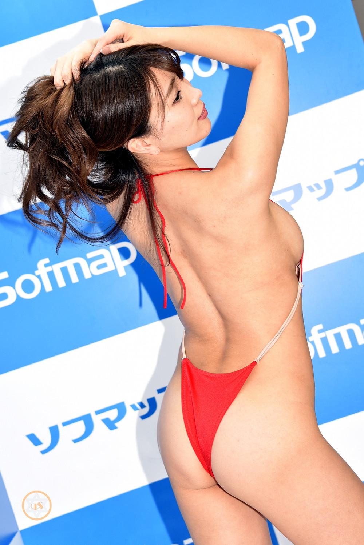 巨乳Gカップグラドル森咲智美『more.../イーネット・フロンティア』DVD発売記念イベント (1)