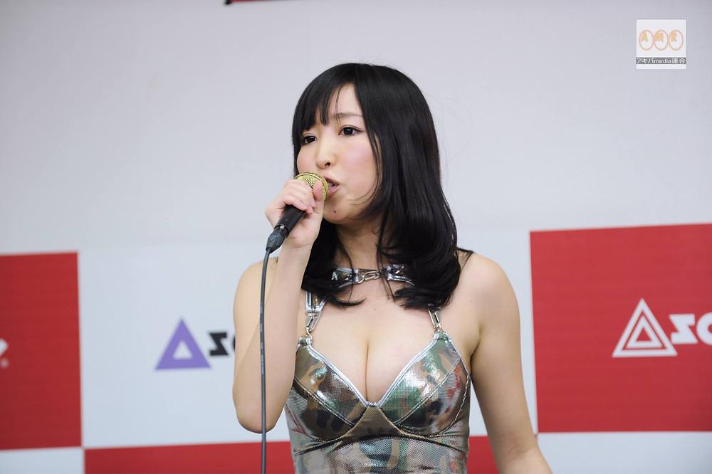 巨乳Hカップグラドル小松詩乃の女教師「日本書紀」授業 (1)
