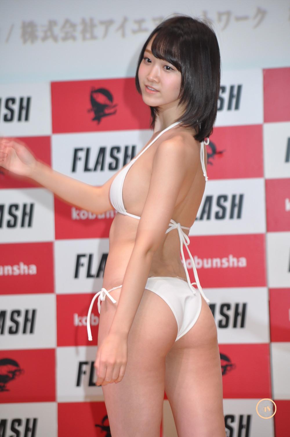 小島瑠那『ミスFLASH2018グランプリ発表記者会見&水着お披露目/㈱光文社』 (15)