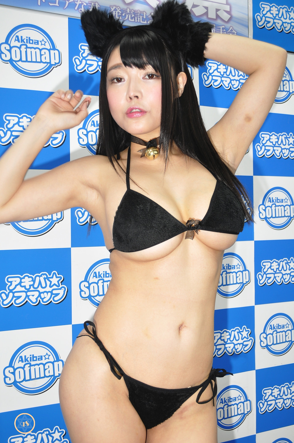 巨乳Iカップ桃尻グラドル柴咲凛『ハードコアな君/㈱スパイスビジュアル』DVD発売記念イベント (8)