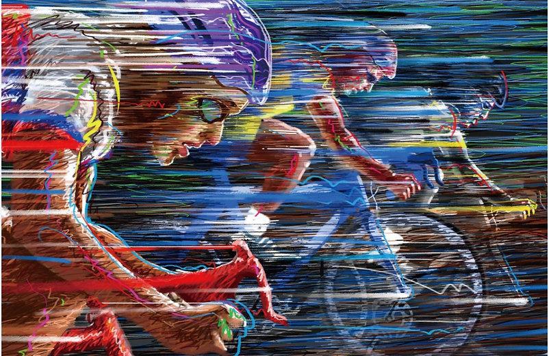 Free-shipping-Graffiti-bike-race-speed-c