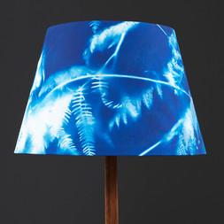 Cyanotype Lampshade