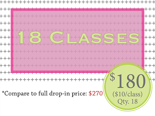 18 classes
