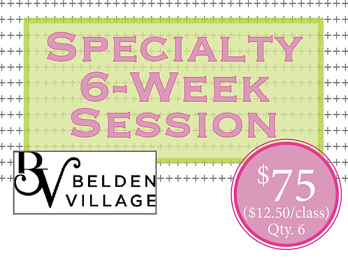 Specialty 6-Week Session of Stroller Cardio at Belden Village Mall