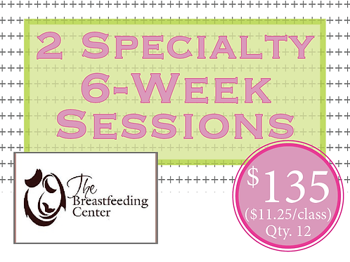 BabyWear Ballet & Strength Training 6-Week Sessions at The Breastfeeding Center