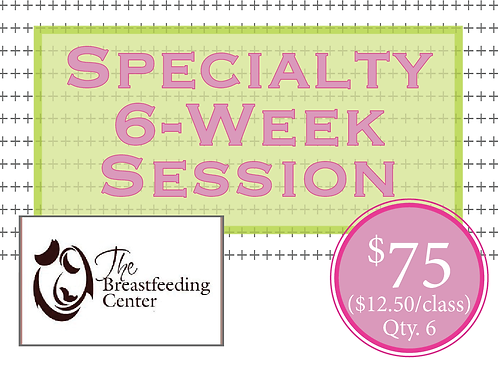 BabyWear Ballet 6-Week Session at The Breastfeeding Center