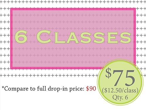 6 Classes