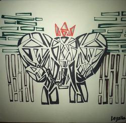 Sketch_elephant_king