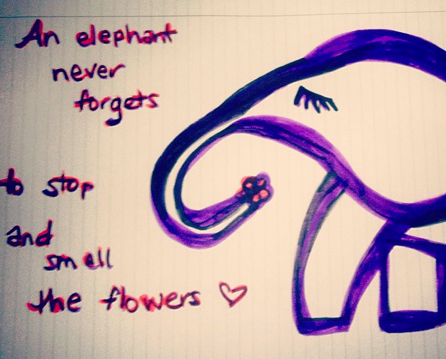 Sketch_Elephant_Saying