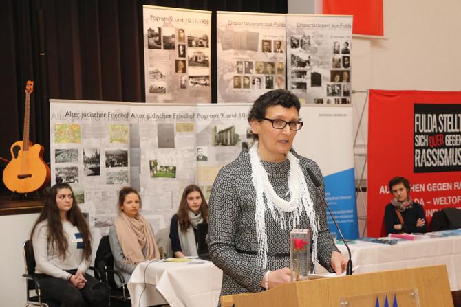 """Projekt """"Fulda-Auschwitz"""" mit dem Ehrenamtspreis 2018 für Zivilcourage vom SPD Stadtverband Fulda au"""
