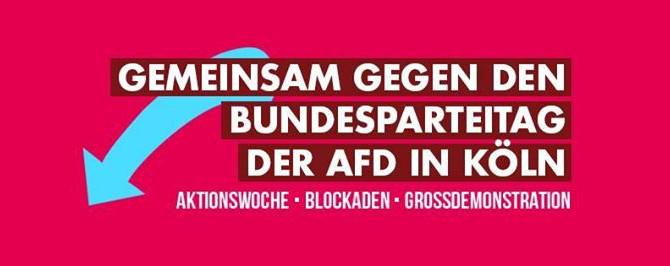 FCK AfD - mit dem Bus nach Köln