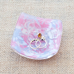 Marbled Pink Dish