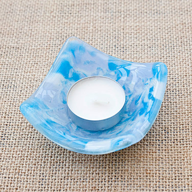 Marbled Blue Dish