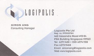Simon Ang - Logipolis Consulting Mgr - N