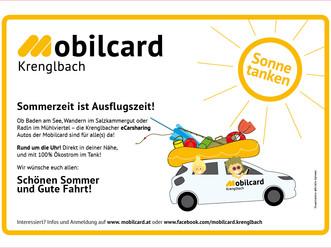 Mobilcard Krenglbach wünscht einen schönen Sommer!
