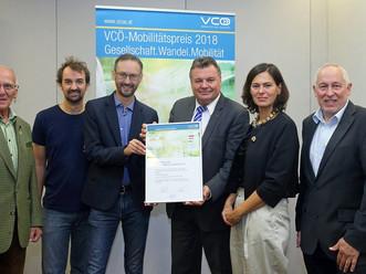 VCÖ-Auszeichnung für Mobilcard Krenglbach