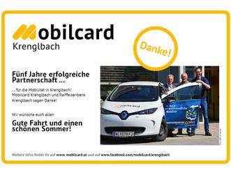 5 Jahre Partnerschaft für Krenglbach