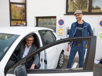 Gelungener Auftakt für das e/carsharing in Bad Schallerbach!
