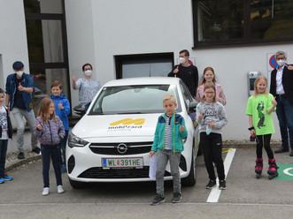 """""""Emil"""" - das neue Mitglied in der e/carsharing-Familie!"""