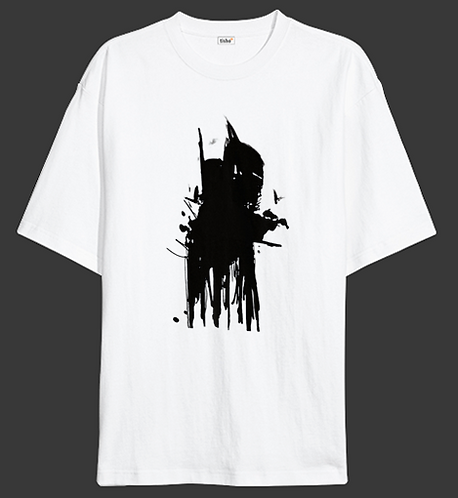 Stain on Wall - Unisex Oversized T-Shirt