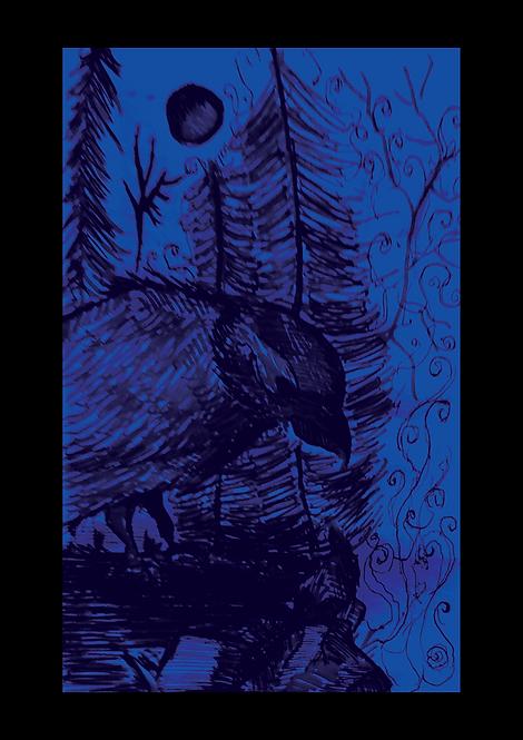 Bird of Agony - A3 Print