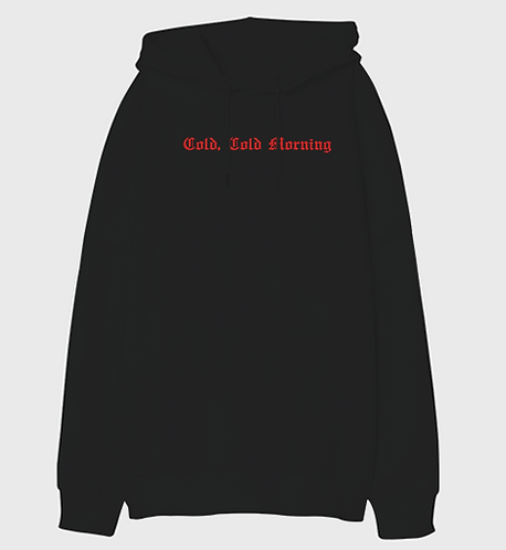 Cold, Cold Morning - Unisex Oversized Hoodie