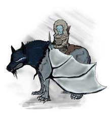 Wolfrider Bat-Sapien