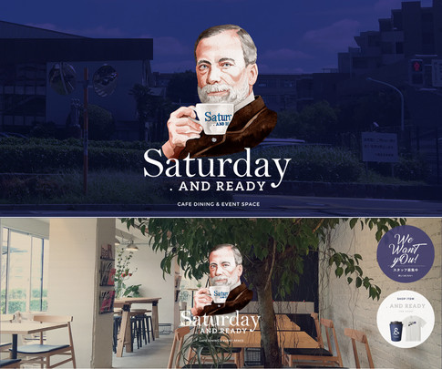 Saturday .AND READY /  メインビジュアル