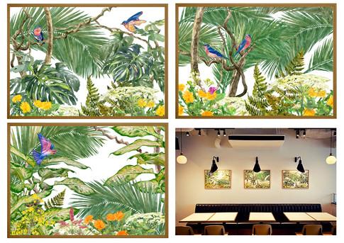 RETHINK CAFE with Ploom TECH /  インテリアアート