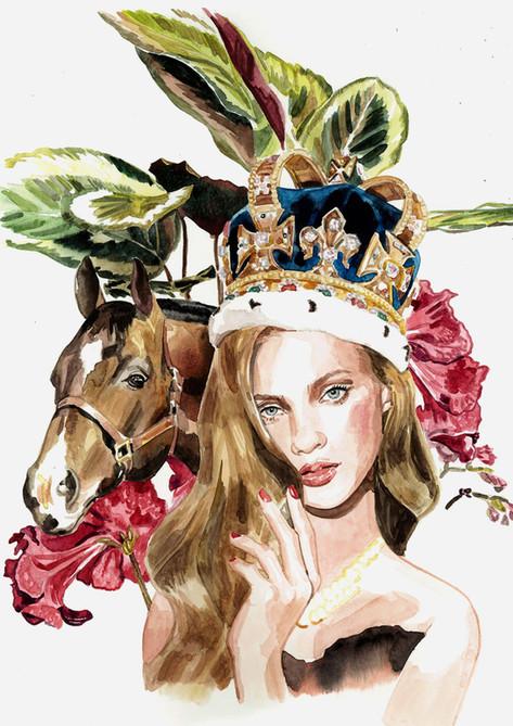 馬と女王 / オリジナル