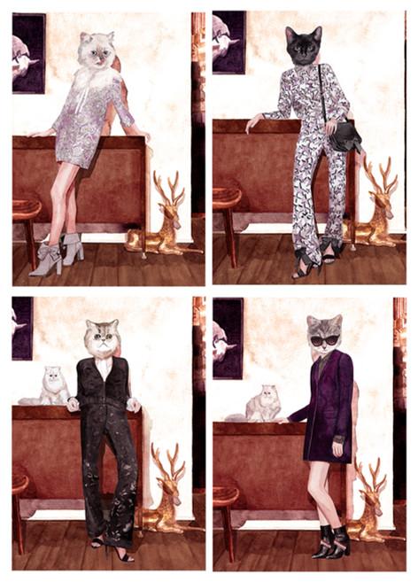 MILL magazine ISSUE 03 /  PAUL & JOE / キャットウォーク