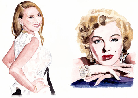 Angela from LEON / Scarlett Johansson & Marilyn Monroe
