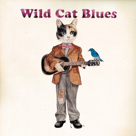 FLEX LIFE / 「Wild Cat Blues」ジャケットイラスト