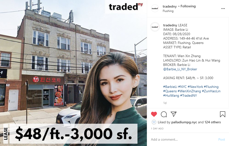 traded-flushing just leased
