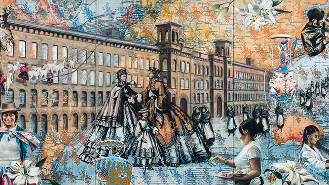 New commission for Salts Mill to be exhibited from 5 May 2018