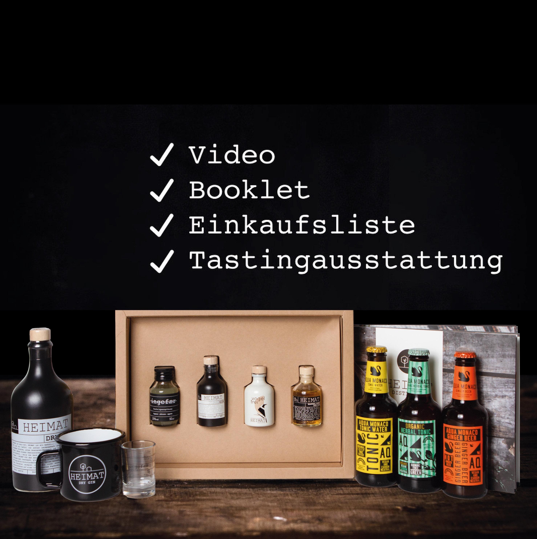 Heimat Home Tasting Set 1 Person Heimat Gin
