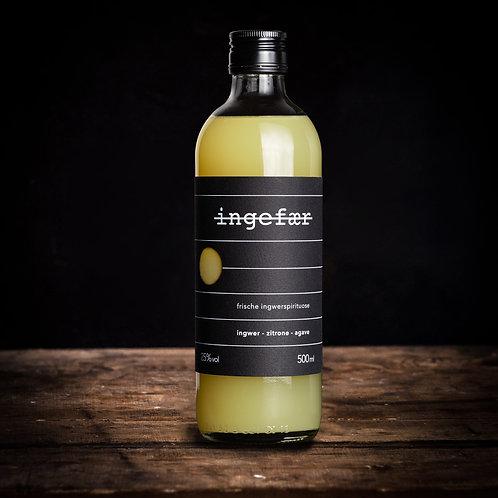 ingefær 0,5 Liter (Ingwerspirituose)