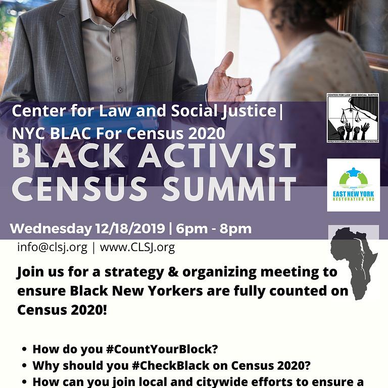 Black Activist Census Summit