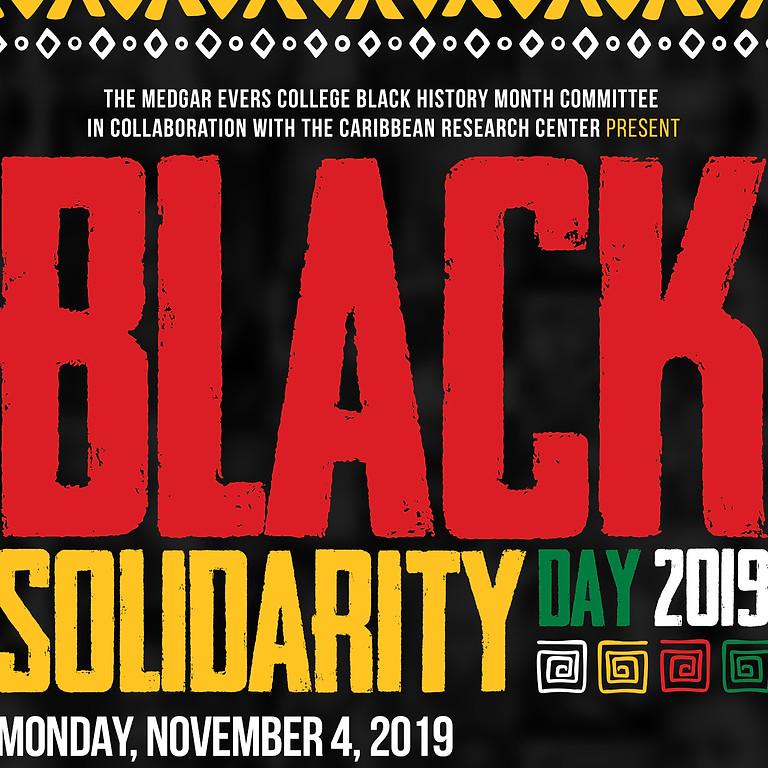 Black Solidarity Day 2019