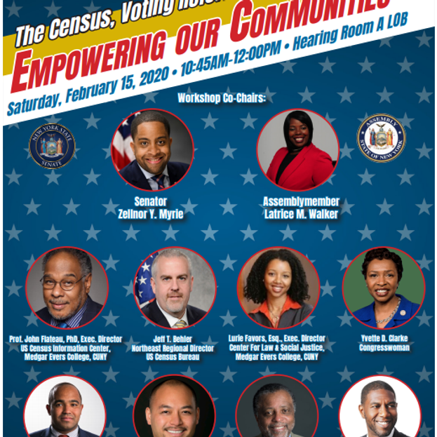 Empowering Our Communities: the Census, Voting Reform and Re-Districting