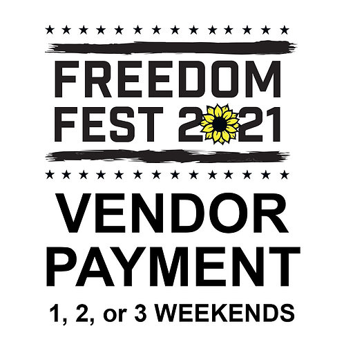 Freedom Fest 2021 Vendor Space