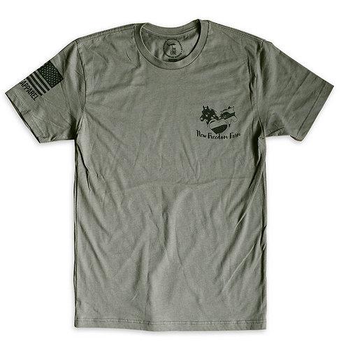 NINE LINE Short Sleeve T-shirt