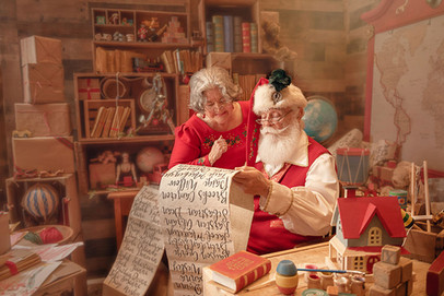 Yes, Santa, You Have Then All on the Good List Again